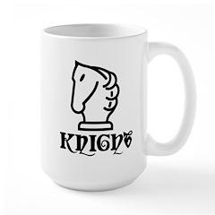 Knight Large Mug