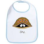 Shy Turtle Bib