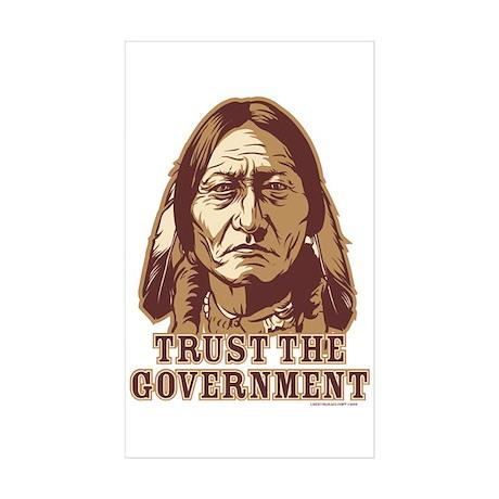 Government Rectangle Sticker 10 pk)