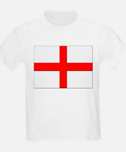England St. George Cross Flag Kids T-Shirt