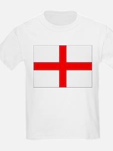 England St. George Cross Flag Kids T-Shirt