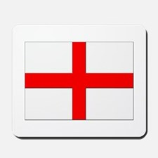 England St. George Cross Flag Mousepad