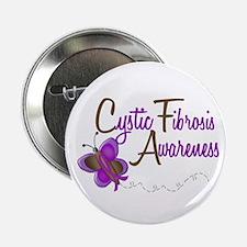 """CF Awareness 1 Butterfly 2 2.25"""" Button"""