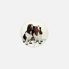 Basset Hound Mini Button (10 pack)