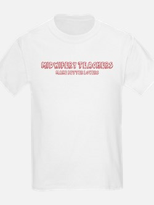 Midwifery Teachers make bette T-Shirt