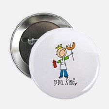 """BBQ King 2.25"""" Button (10 pack)"""
