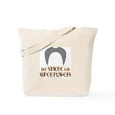 'Stache super powers. Tote Bag