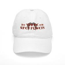 'Stache super powers. Baseball Baseball Cap