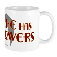 'Stache super powers. Mug