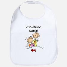 Vacations Rock Bib