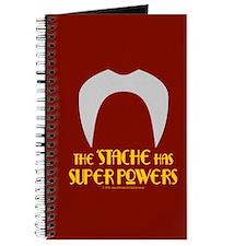 'Stache super powers. Journal