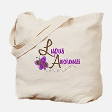 Lupus Awareness 1 Butterfly 2 Tote Bag