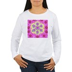Women's Long Sleeve T-Shirt Flake and Filligree