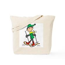 Winter Snowshoeing Tote Bag