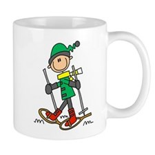 Winter Snowshoeing Mug