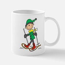 Winter Snowshoeing Mug