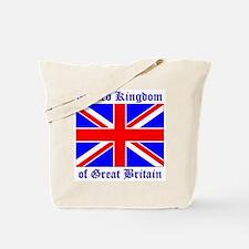 UK Flag of Great Britain Tote Bag