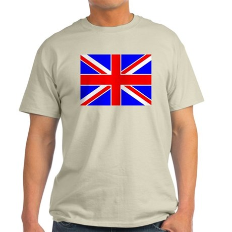 United Kingdom Flag Ash Grey T-Shirt
