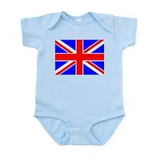 United Kingdom Flag Infant Creeper