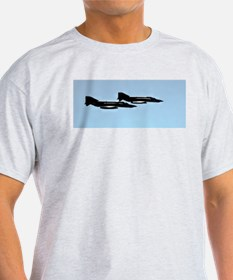 High Rollers F4 Phantoms Ash Grey T-Shirt