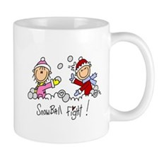 Snowball Fight Mug