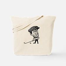Angry Golfer Tote Bag
