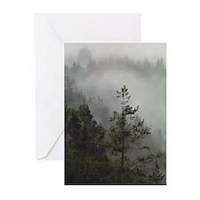 Redwood Haze Greeting Cards (Pk of 10)