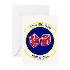 Unique Fighter squadron Greeting Card