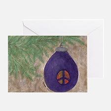 Peace Ornament- Greeting Card