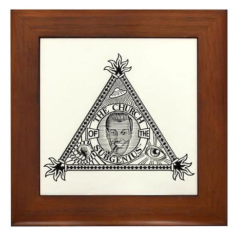 Church Logo Framed Tile