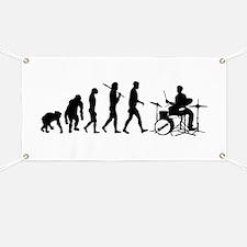 Drummers Drumming Banner
