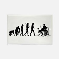 Drummers Drumming Rectangle Magnet