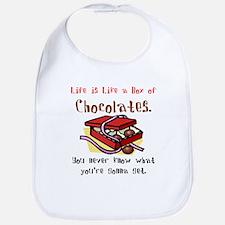 Life is a Box of Chocolates Bib