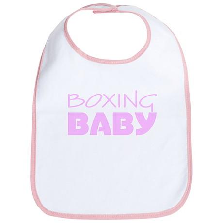 Boxing Baby Pink Bib