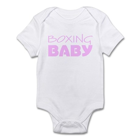 Boxing Baby Pink Infant Bodysuit