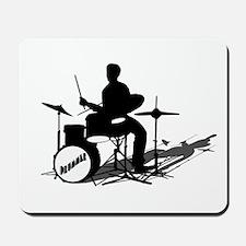 Drummer Drumming Mousepad
