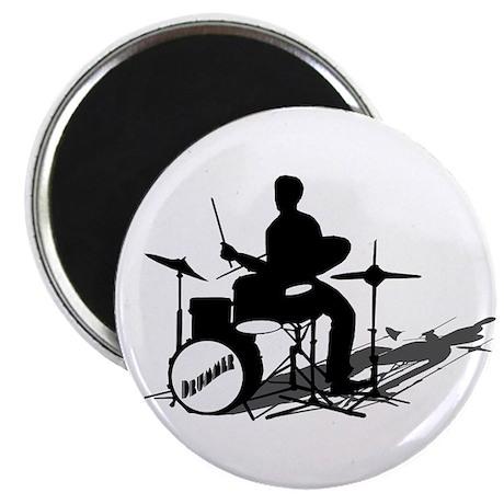 Drummer Drumming Magnet