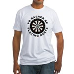 DARTBOARD/DARTS Fitted T-Shirt