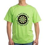 DARTBOARD/DARTS Green T-Shirt