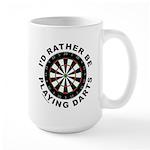 DARTBOARD/DARTS Large Mug