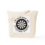 DARTBOARD/DARTS Tote Bag