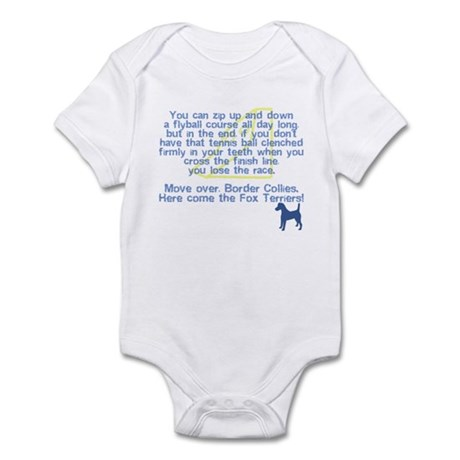 Move Over Smooth Fox Infant Bodysuit