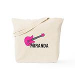Guitar - Miranda - Pink Tote Bag