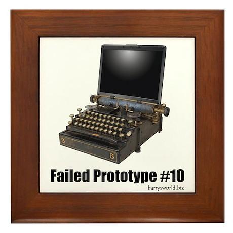 Prototype #10 Framed Tile