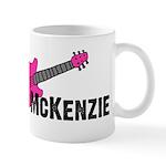 Guitar - McKenzie - Pink Mug