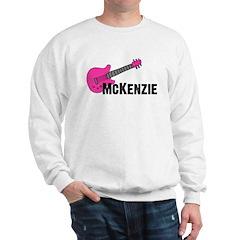Guitar - McKenzie - Pink Sweatshirt