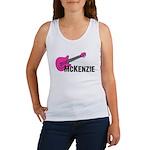 Guitar - McKenzie - Pink Women's Tank Top