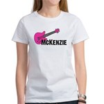 Guitar - McKenzie - Pink Women's T-Shirt