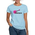 Guitar - McKenzie - Pink Women's Light T-Shirt