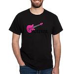 Guitar - McKenzie - Pink Dark T-Shirt